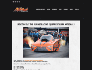 mcattackracing.com screenshot