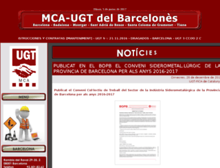 mcaugtbcn.org screenshot