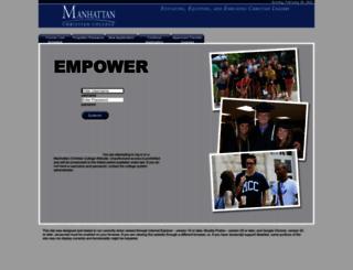 mcc.empower-xl.com screenshot