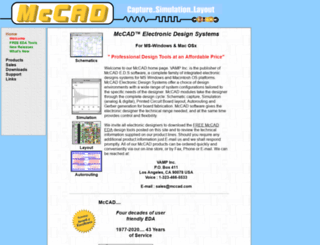 mccad.com screenshot