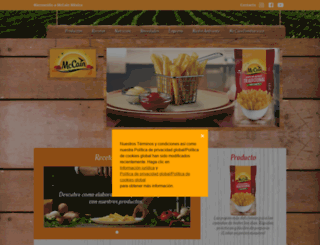 mccain.com.mx screenshot