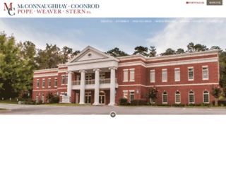 mcconnaughhay.com screenshot