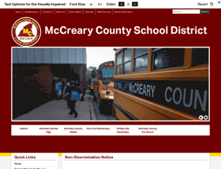 mccreary.k12.ky.us screenshot