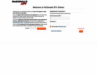 mcdonaldatv.com screenshot