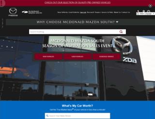 mcdonaldmazda.com screenshot