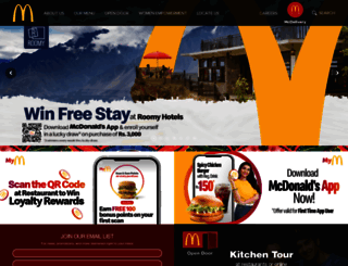 mcdonalds.com.pk screenshot