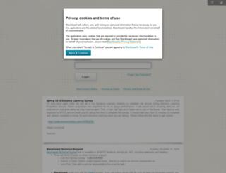 mcdowelltech.blackboard.com screenshot