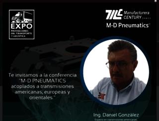 mcentury.com.mx screenshot