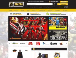 mcflycolecionaveis.com.br screenshot