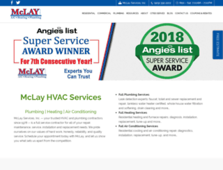 mclayservices.com screenshot