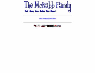 mcnabbs.org screenshot