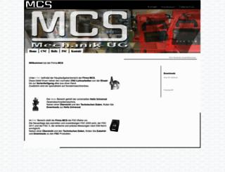 mcs-mechanik.de screenshot