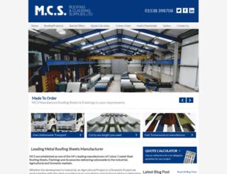 mcsroofing.co.uk screenshot