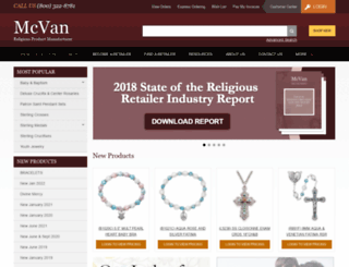mcvaninc.com screenshot