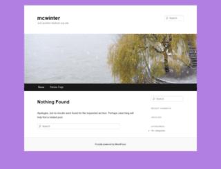 mcwinter.myknet.org screenshot