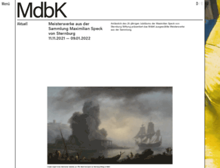 mdbk.de screenshot