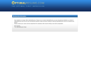 access mdc optimalresume com optimal resume at miami dade college