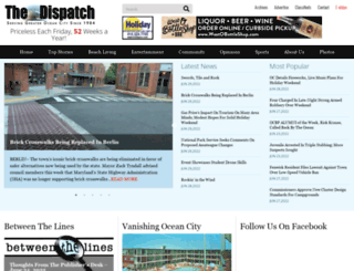 mdcoastdispatch.com screenshot