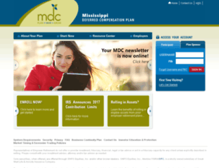 mdcplan.gwrs.com screenshot