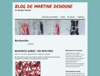 mdenoune.wordpress.com screenshot