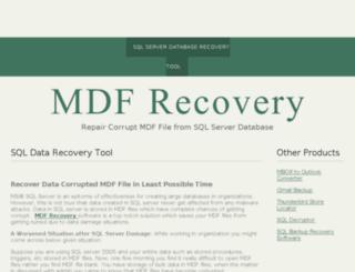 mdf-recovery.bravesites.com screenshot