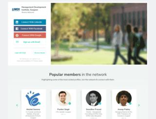 mdi.almaconnect.com screenshot