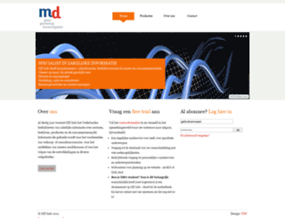 mdinfo.nu screenshot