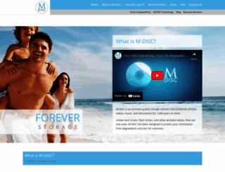 mdisc.com screenshot