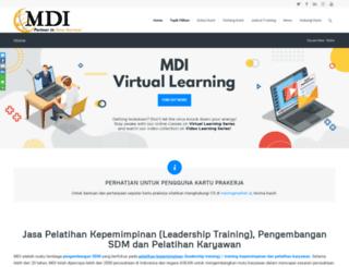 mditack.co.id screenshot