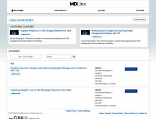 mdlinx.realcme.com screenshot