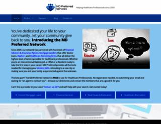 mdpreferredservices.com screenshot