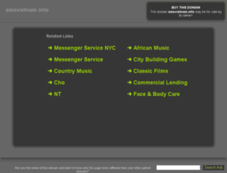mds.smsvietnam.info screenshot