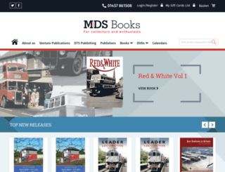 mdsbooks.co.uk screenshot