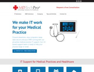 mdtechpro.com screenshot