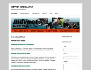 mdvnet.com screenshot