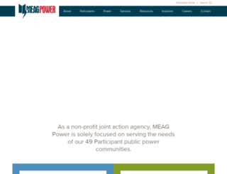 meagpower.org screenshot