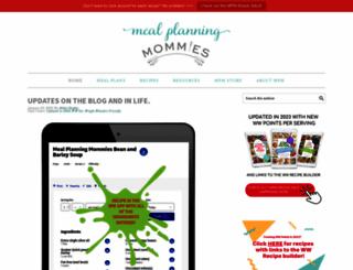 mealplanningmommies.com screenshot