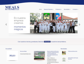 meals.com.co screenshot