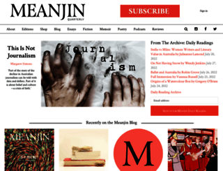 meanjin.com.au screenshot