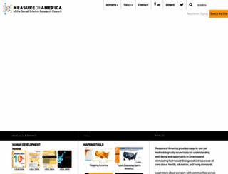 measureofamerica.org screenshot