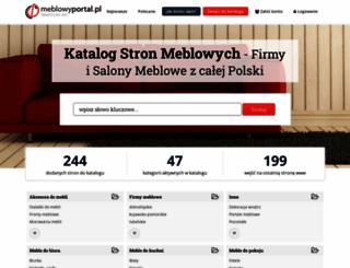 meblowyportal.pl screenshot