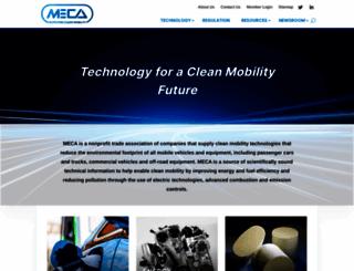 meca.org screenshot
