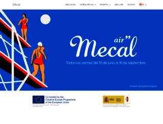 mecalbcn.org screenshot