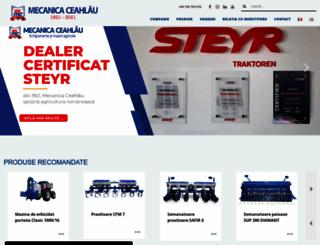 mecanicaceahlau.ro screenshot