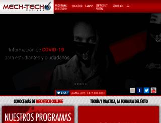mechtech.edu screenshot