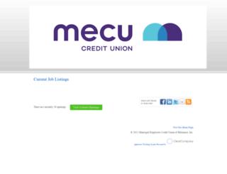 mecu.hrmdirect.com screenshot