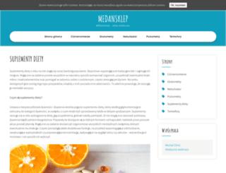 medansklep.pl screenshot