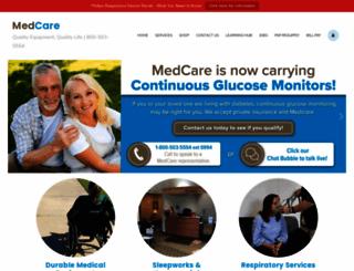 medcareequipment.com screenshot
