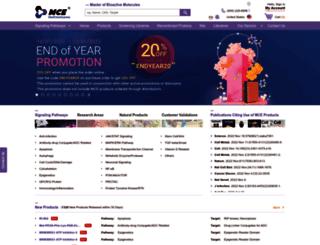 medchemexpress.com screenshot