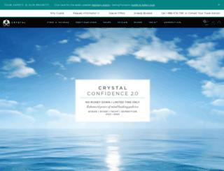 medcruise.crystalcruises.com screenshot